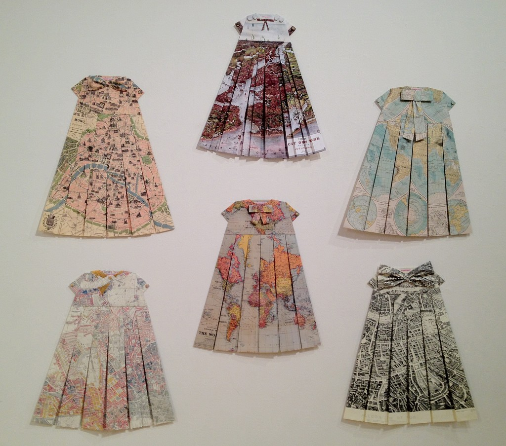 Map Dresses by Elizabeth LeCourt