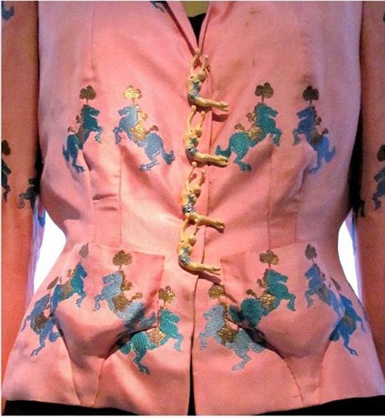 Schiaparelli & Prada -Trapeze Buttons