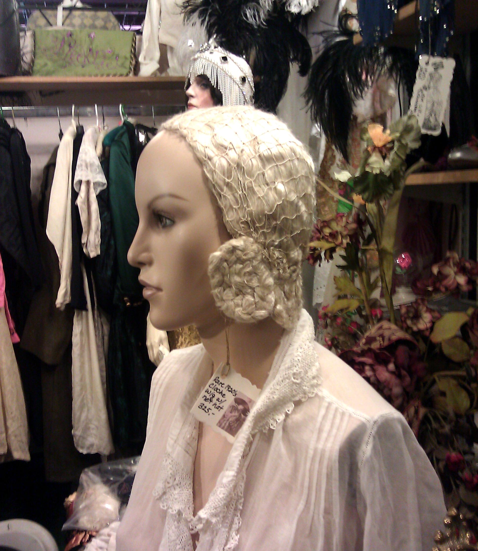 1920s Cloche Wig