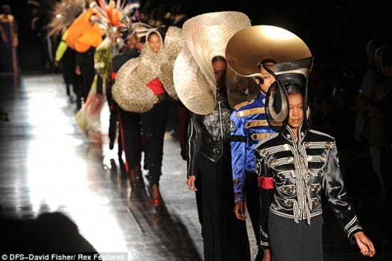 Philip Treacy at London Fashion Week