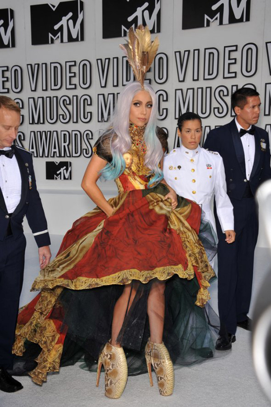Mother Monster in McQueen